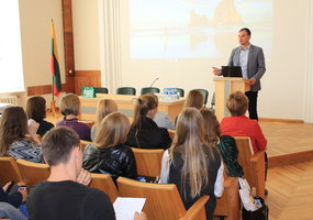 Almost 30 future scientists – in seminar of doctoral students  - 2