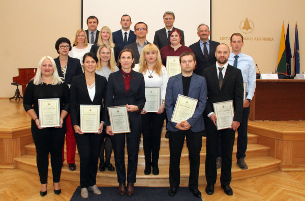 Lithuanian Academy of Sciences' Scholarships for young researchers