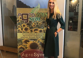 PhD students attended in International Agricultural Symposium AGROSYM2018 - 4
