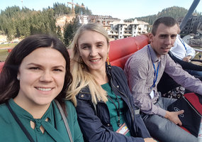 PhD students attended in International Agricultural Symposium AGROSYM2018 - 1