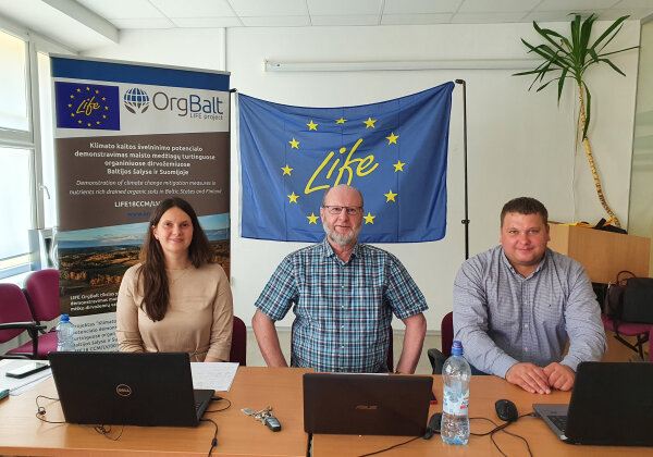 "Climate change mitigation measures were discussed at the LIFE ""OrgBalt"" national workshop"