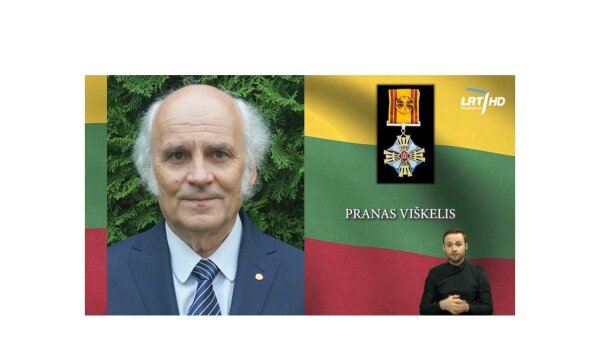 Congratulations to Prof. Dr. Pranas Viškelis on being awarded the Cross of the Officer of the...